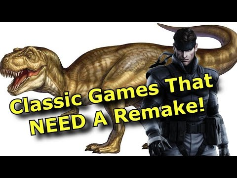TOP 10 Classic Games That NEED A Remake!