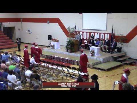 Solomon High School Graduation 2018