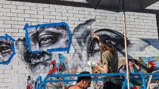 Making a Mural : Sandra Chevrier | Vermont & 25th, Los Angeles