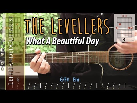 The Levellers - What A Beautiful Day | guitar lesson