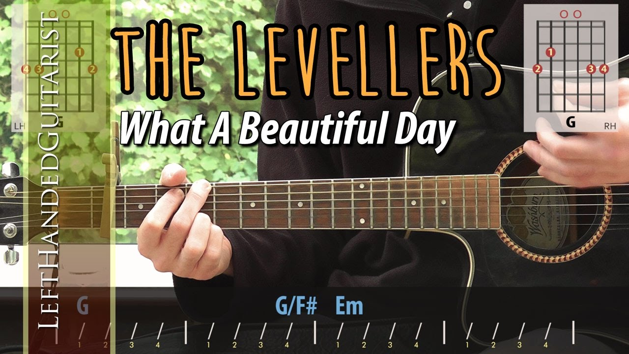 The Levellers What A Beautiful Day Guitar Lesson Youtube
