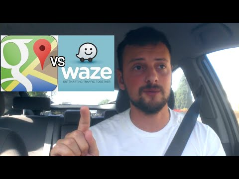 Google Maps vs Waze - Which is better for Uber/Lyft Drivers ?