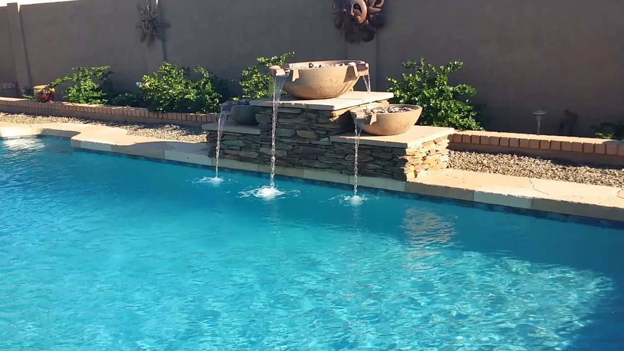 Stacked stone water feature - Wok Pot Water Feature With Stacked Stone Pedestals