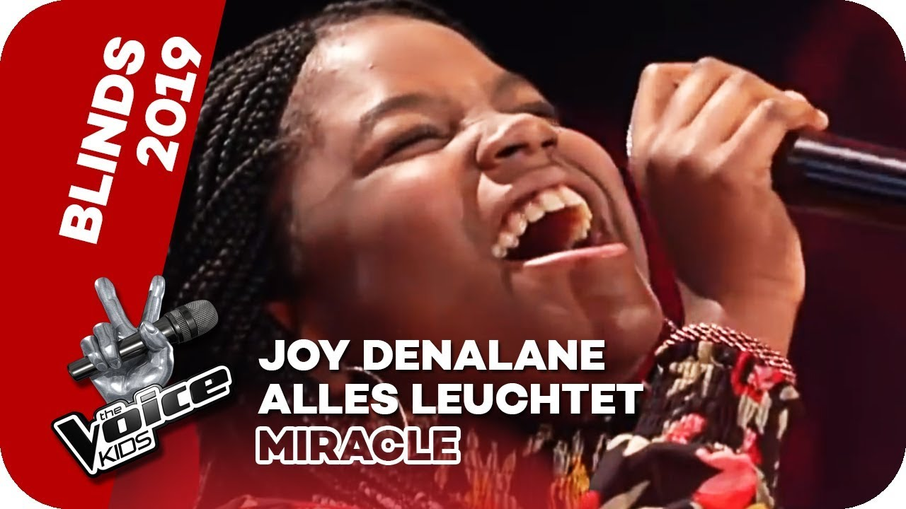Download Joy Denalane - Alles Leuchtet (Miracle) | Blind Auditions | The Voice Kids 2019 | SAT.1