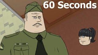 60 Seconds! обучение 1 серия подготовка