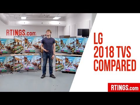 All LG 2018 4k TVs Compared - RTINGS.com