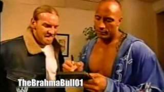 RAW 2003 - The Rock and Christian Segment