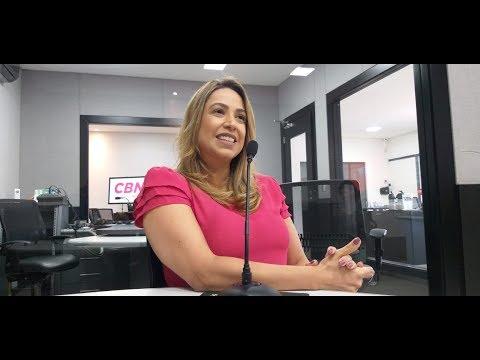 Entrevista CBN Campo Grande: Caroline Reis , embaixadora da Rede Mulher Empreendedora MS