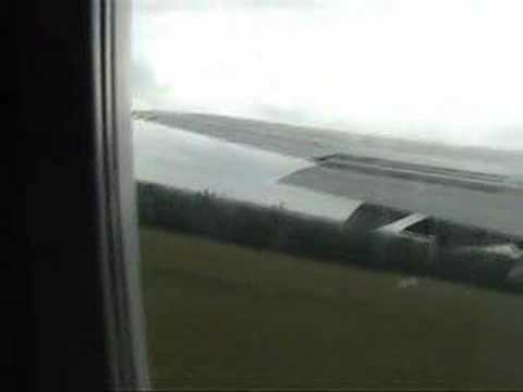 Travel City Direct Takeoff From London Gatwick 747