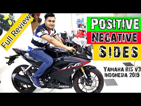 New Yamaha R15 v3 Indonesia 2019 | First Impression In BD | Full Review || Nayem Rock