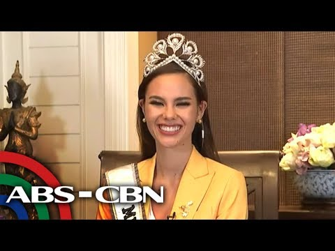 WATCH: Miss Universe 2018 Catriona Gray sa TV Patrol | 17 December 2018