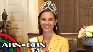 WATCH: Miss Universe 2018 Catriona Gray...