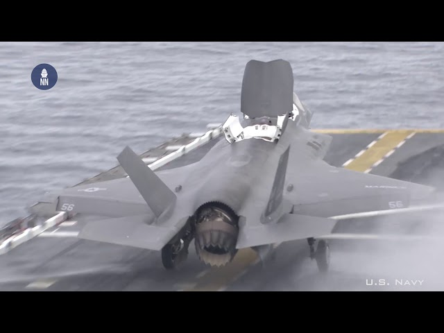 Italian Navy Aircraft Carrier 'Cavour' Ready for F-35B Joint Strike Fighters