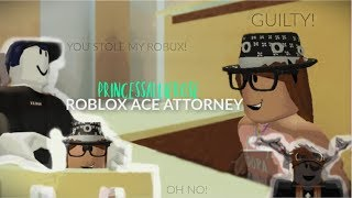 Roblox Ace Attorney 👩‍⚖️