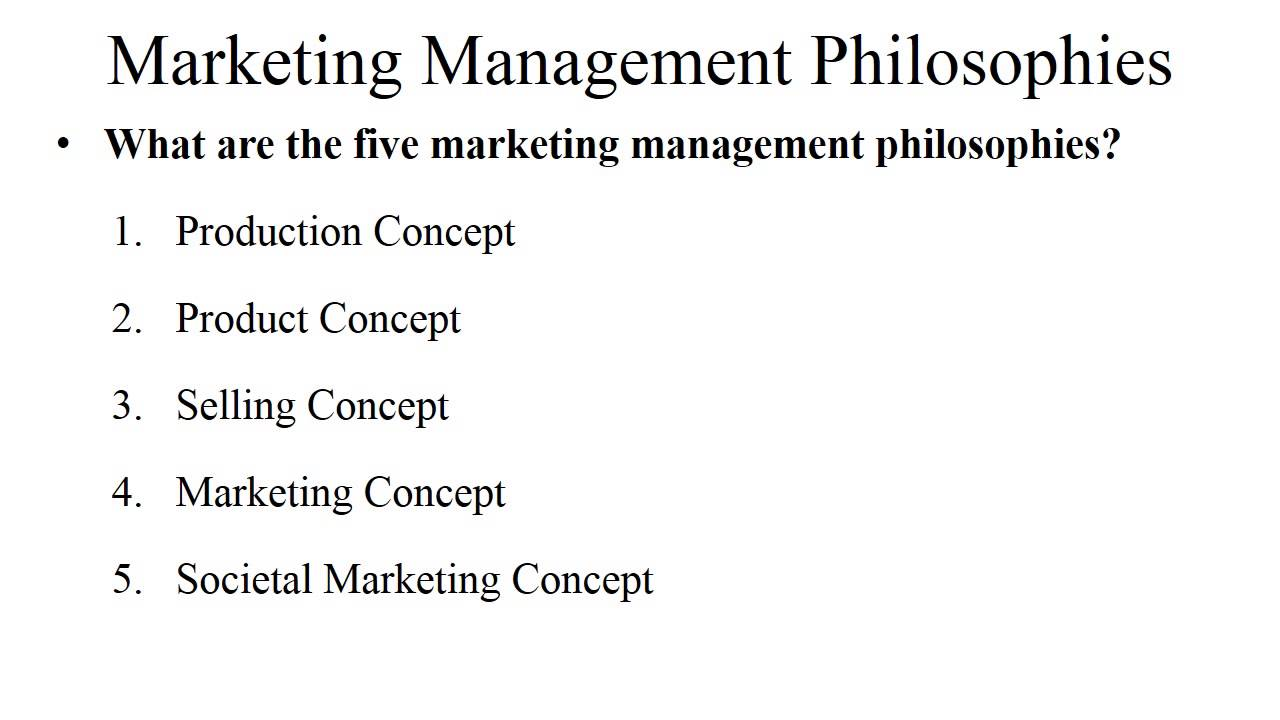 production concept in marketing management production concept in marketing management
