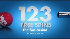 123 Free Spins at Vera&John - the fun casino