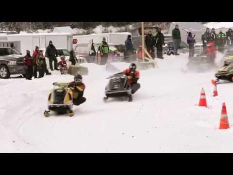 Vintage Snowmobile Racing: Great North Woods