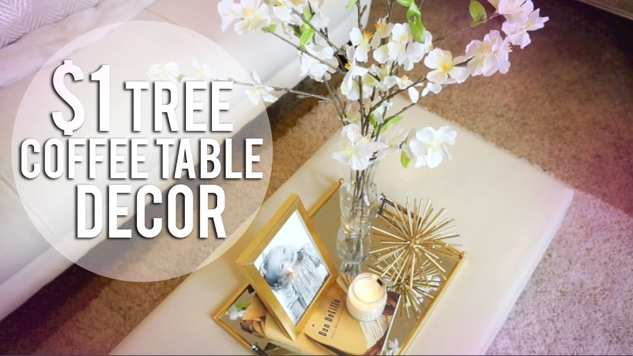 Dollar Tree Diy 4 Coffee Table Decor Ideas
