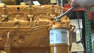 Perkins 4.108 Fuel Filter Conversion Kit Installation