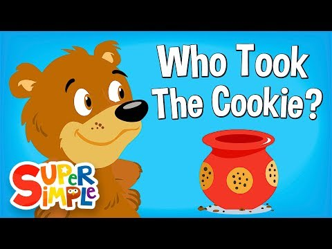 Who Took The Cookie? | Nursery Rhyme | Super Simple Songs