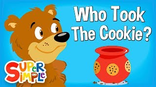 Download Who Took The Cookie? | Nursery Rhyme | Super Simple Songs Mp3 and Videos