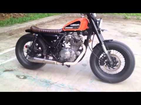 Kawasaki Kz 200 Binter Merzy Bratstyle Bobber Japstyle