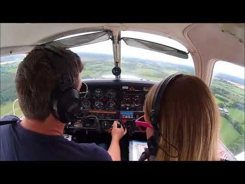 Landing in Clonbullogue