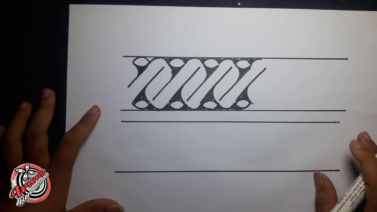 Cara Membuat Batik Parang Part 2 By Irwan Henna Youtube