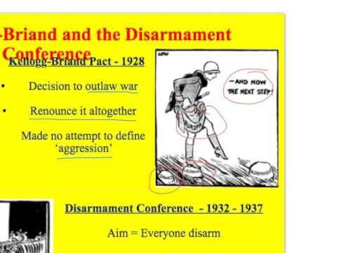 Inter-War Years - LoN - 7. Locarno, Kellogg-Briand and the Disarmament Conference