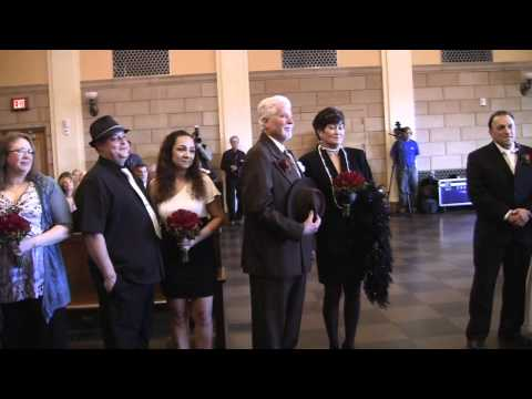 """Vegas Weddings Presents """"Married by the Mob"""" Grand opening of The Mob Museum"""