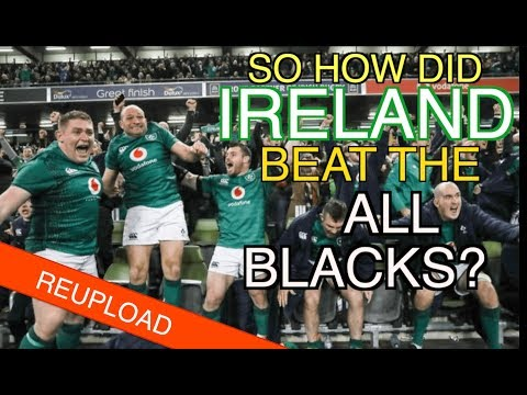 So How Did Ireland Beat The All Blacks?   Ireland 16-9 New Zealand   The Squidge Report [Reupload]
