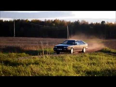 Audi Coupe quattro B2 drift