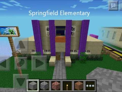 Minecraft PE Springfield