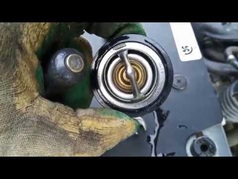 Замена термостата (Thermostat replacement)