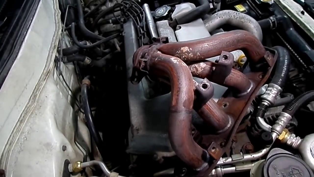 Toyota Rav4 Exhaust System Diagram 2001