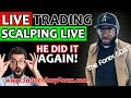 (LIVE SCALPING) HE DID IT AGAIN!!! - So Darn Easy Forex™