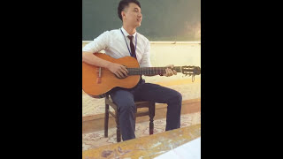 Cover suy nghĩ trong anh guitar