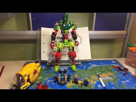 ВЛОГ 9:Лего Стражи Галактики Vol. 2 Месть Аиши и Бионикл Самоделка