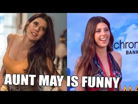 Marisa Tomei Funny Moments | Aunt May Is Funny | Try Not To Laugh 2019