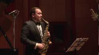 Jean Francaix - Cinq danses exotiques II Baiao (Saxophone - Alexander Strelyaev)