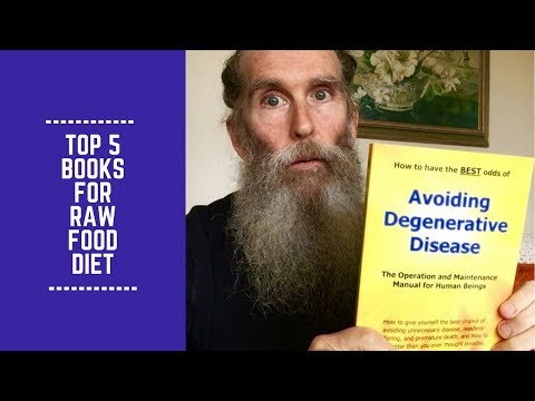 My Top 5 Books for a Raw Food Diet