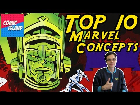 Top 10 Marvel Concepts – The Best of the House of Ideas