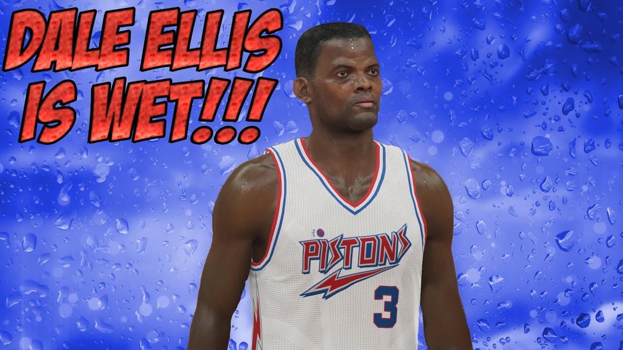 NBA 2K15 MyTeam Legend Showcase Dale Ellis Is INCREDIBLE