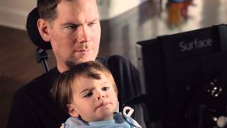 Steve Gleason  Communicating with ALS - Comunicación de pacientes con ELA