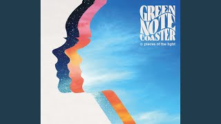 green note coaster - 光と影
