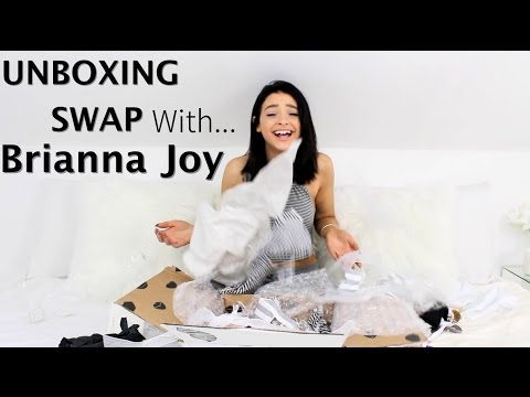 Thumbnail: Unboxing swap with Brianna Joy! |