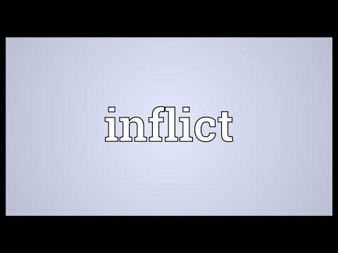 inflict