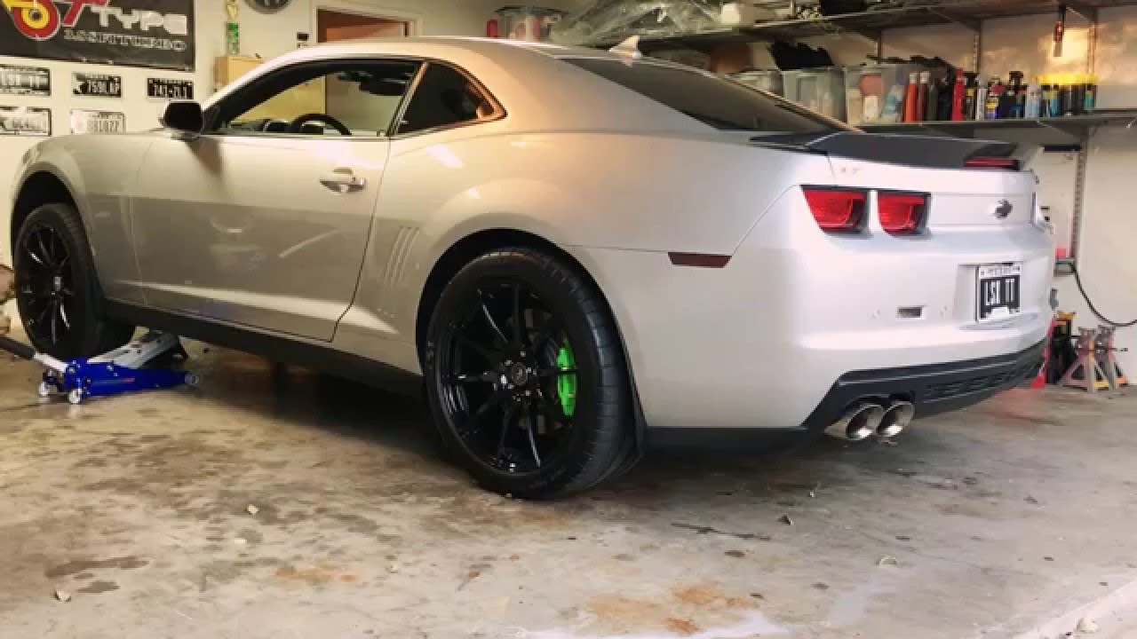 Zl1 On Jack Stands 5 Minutes Youtube