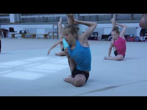 Rhythmic Gymnastics Training - Always Try ♡