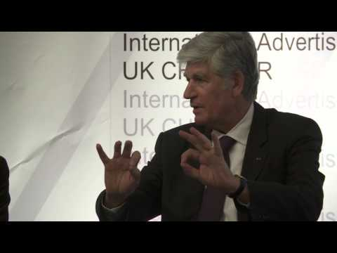 Maurice Lévy CEO Publicis interviewed by CNN Anchor Nina Dos Santos @ IAA Business Briefing.